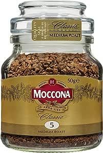 Moccona Classic Medium Roast Freeze Dried, 50 g