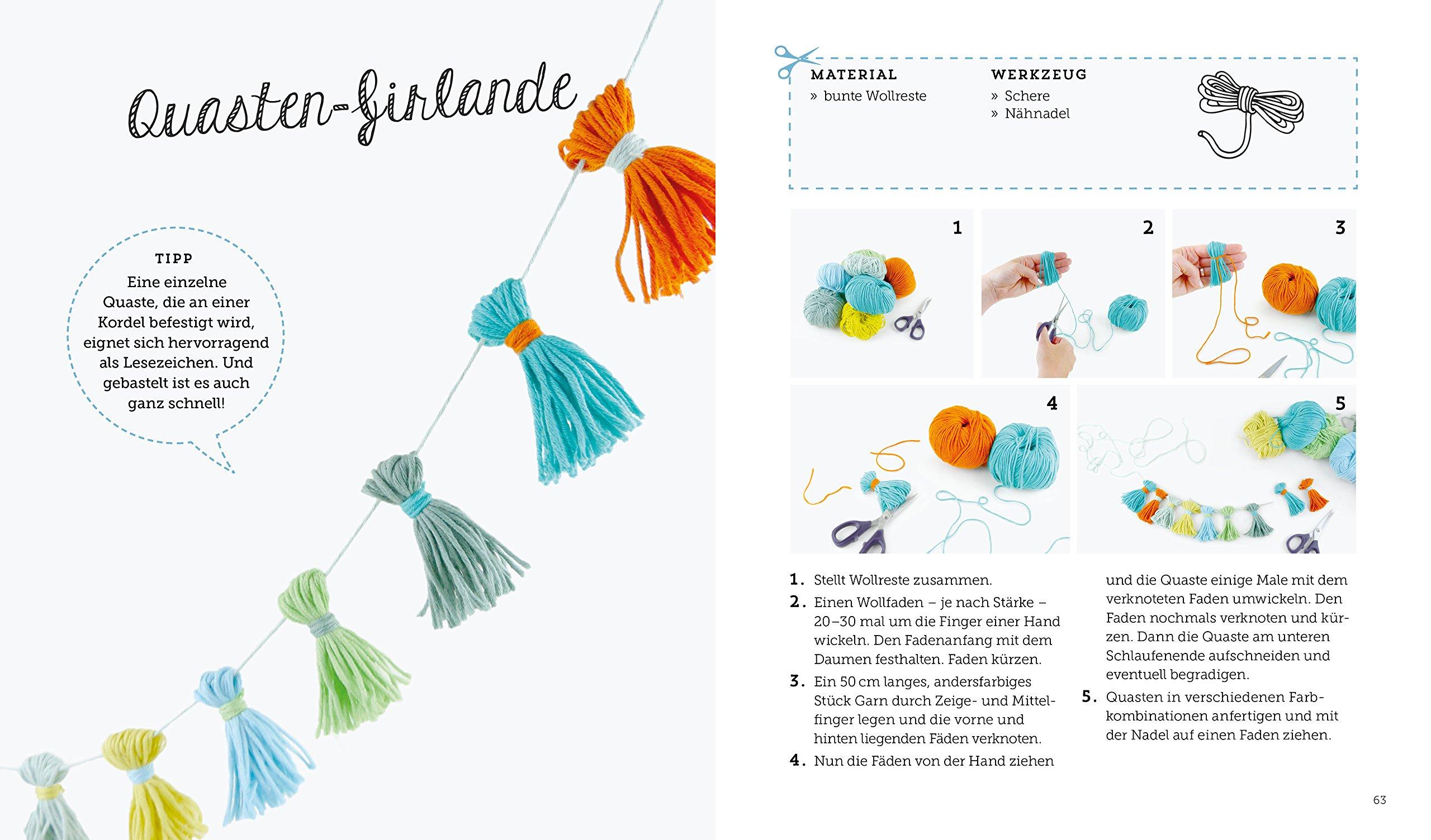 Einfach Basteln Kids: Lustige Projekte In Maximal 5 Schritten: Amazon.de:  Swantje Lindemann, Verena Wöhlk Appel, Daniela Fugger: Bücher