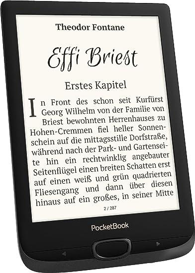PocketBook Lector de eBook Basic Lux 2 (8 GB de Memoria; 15,24 ...