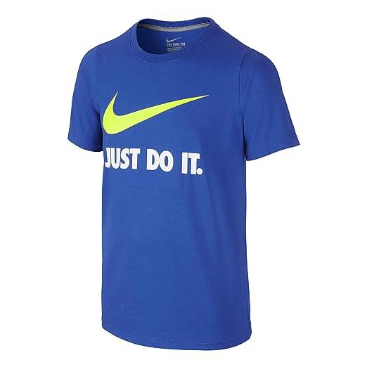 d6ce0005a0 Amazon.com  Nike Boys  Just Do It Swoosh Tee  Sports   Outdoors