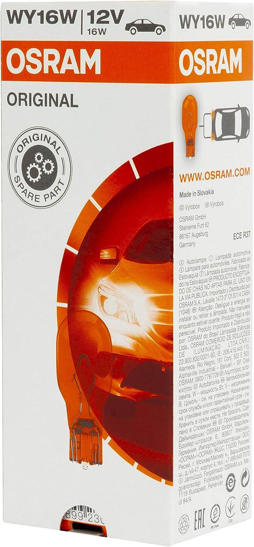 Osram 921NA Lampadina 16W 2.1 x 9.5D Set di 10