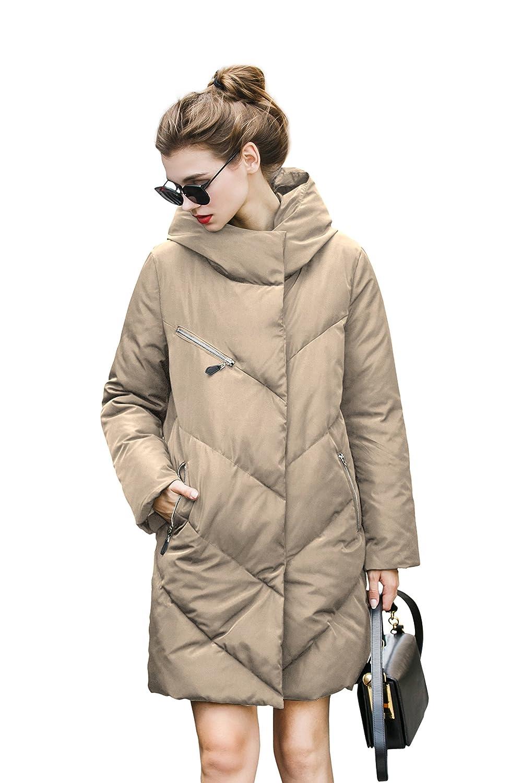 you.u Water Resistant Elegant Puffer Jacket Super Warm