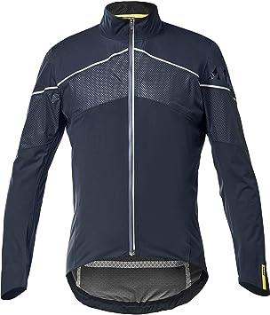 MAVIC Cosmic Elite H2O Fahrrad Regenjacke blau//schwarz 2017