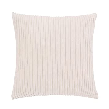 Wondrous Famibay Plush Sofa Cushion Covers 26X26 Decorative Soft Throw Pillow Case Covers With Zipper For Bed 26 X 26 Cream Andrewgaddart Wooden Chair Designs For Living Room Andrewgaddartcom