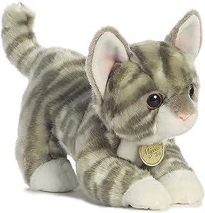 """Aurora - Miyoni - 9"""" Grey Tabby Kitten"""