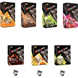 KamaSutra Condoms (Excite - 10 Count (Pack of 4), Excite - 3 Count (Pack of 3))