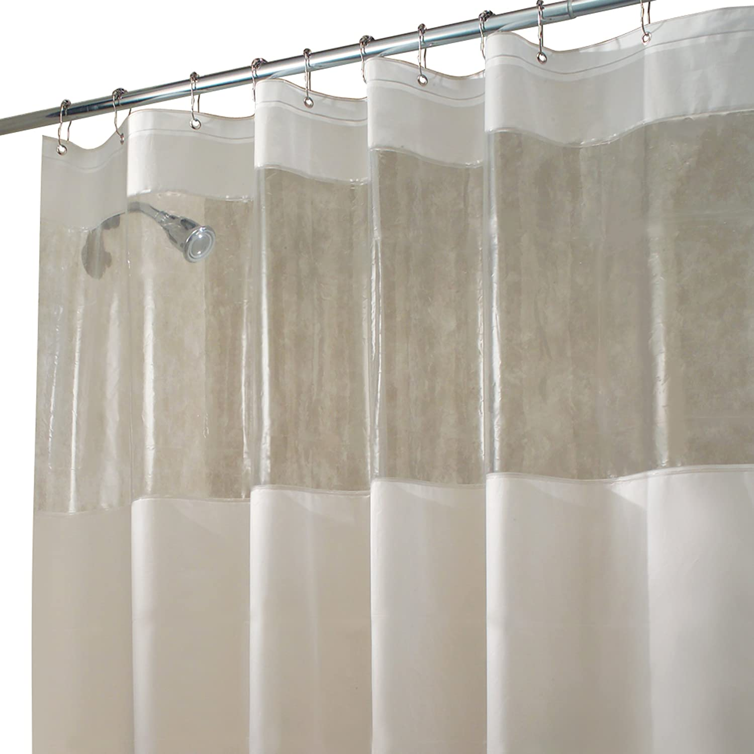 dp by home inch decor curtains com amazon white curtain darla kitchen shower lush