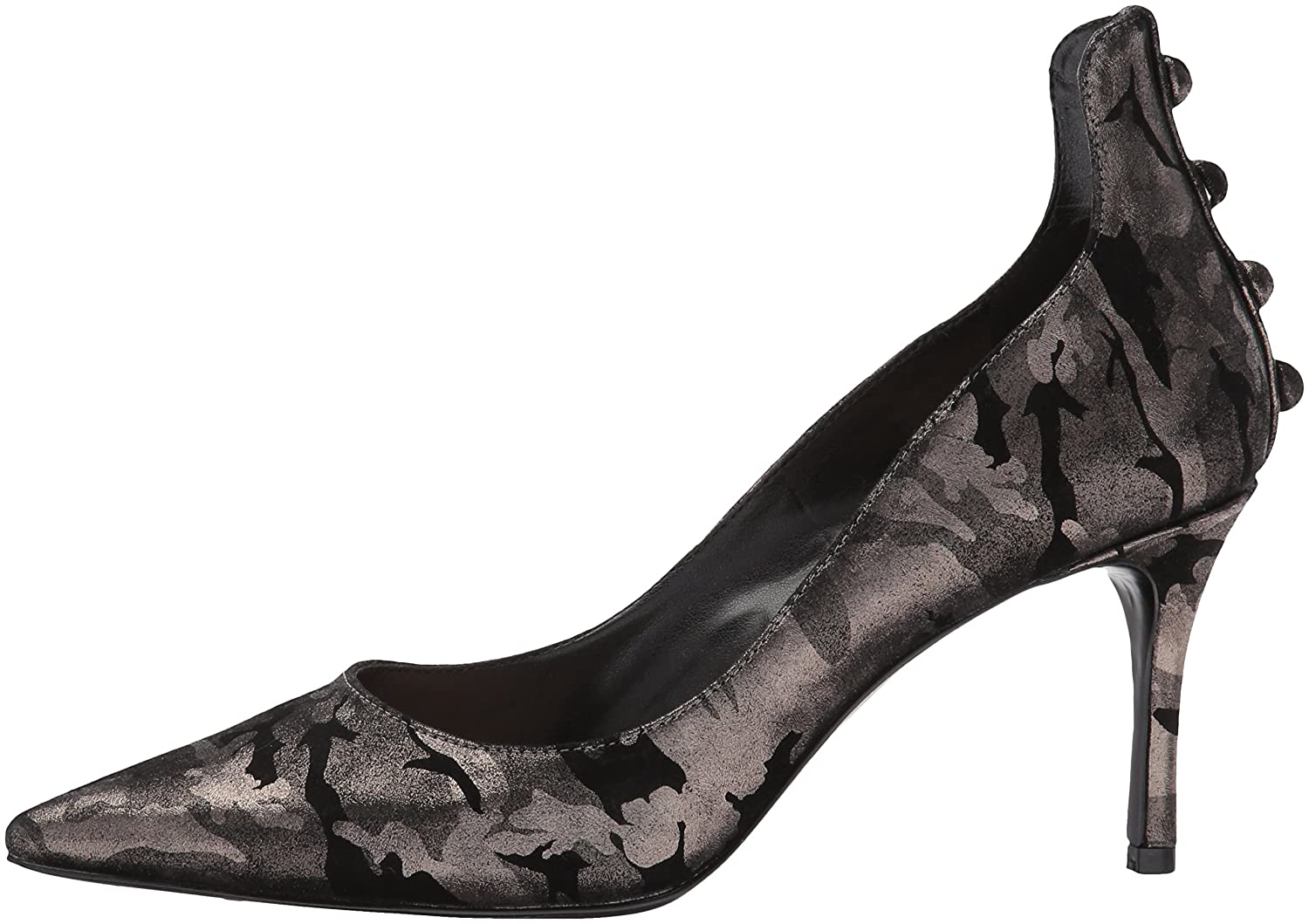 Nine West Women's Maqui Pump B01MUWLC5S 7 B(M) US|Pewter Metallic