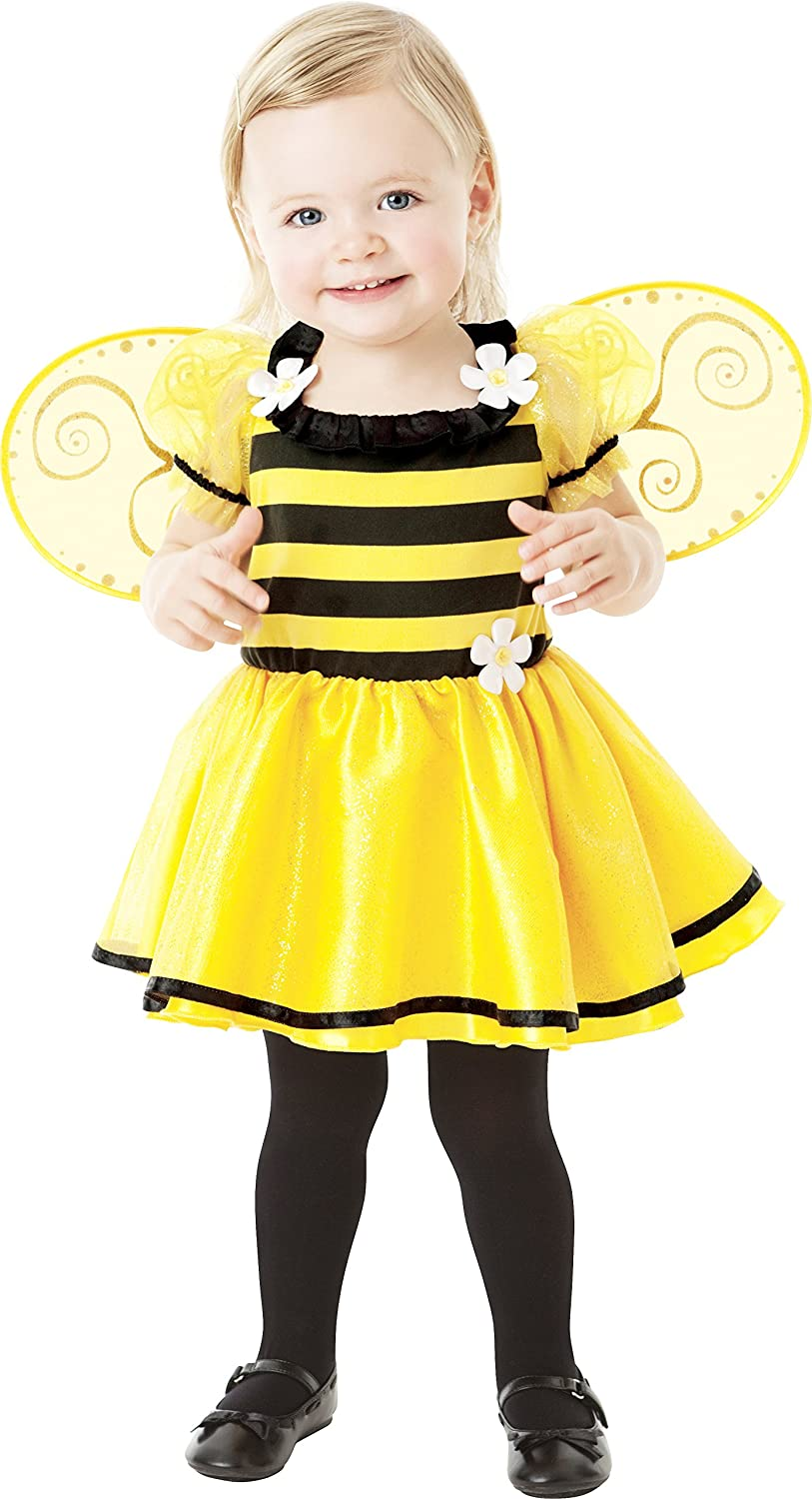 0b5e75cfae8 Bumble Bee Age 1-2 Girls Fancy Dress Animal Insect Book Week Kids Childs  Costume  Amazon.co.uk  Toys   Games
