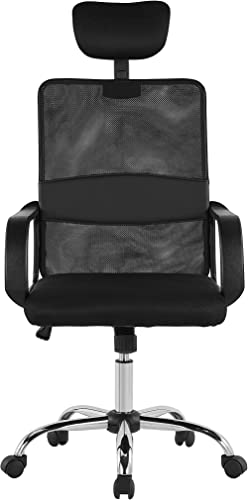 Halter Office Chair Ergonomic Mesh Mid Back Desk Chair