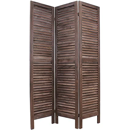 Hartleys Paravento a persiana, pieghevole, in legno - Scelta di ...