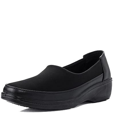 Womens Casual Stretch Comfy Memory Foam Slip On Shoes Sz 3-8