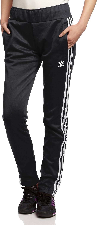 adidas Originals Pantalones de Entrenamiento Mujer Negro/Blanco ...