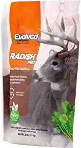 Evolved Harvest Raddish Pro Plot Mixer 1 Lb Bag | Raddish Food Plot Additive for Extra Nutrition
