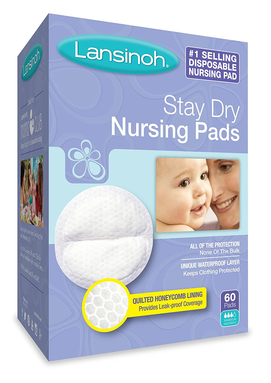 Lansinoh Disposable Nursing Pads - 60 ct 20265 678763