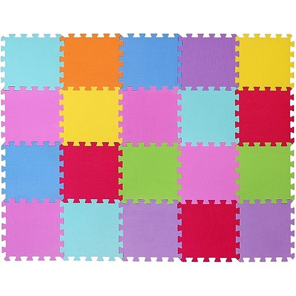 VLFit Puzzle para Niños | Puzzle de Suelo de Goma en Espuma ...