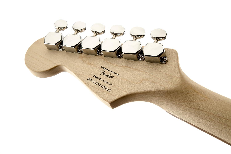 Fender Squier Mini Strat TR Guitarra Eléctrica: Amazon.es: Instrumentos musicales