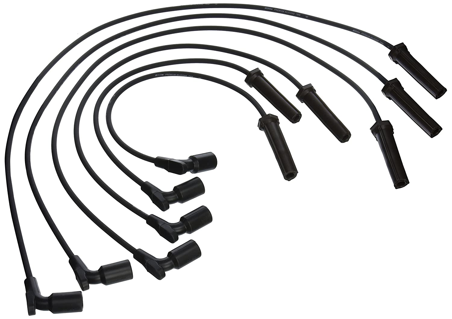 ACDelco 9746QQ Professional Spark Plug Wire Set