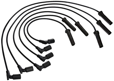 Amazon Com Acdelco 9746qq Professional Spark Plug Wire Set Automotive