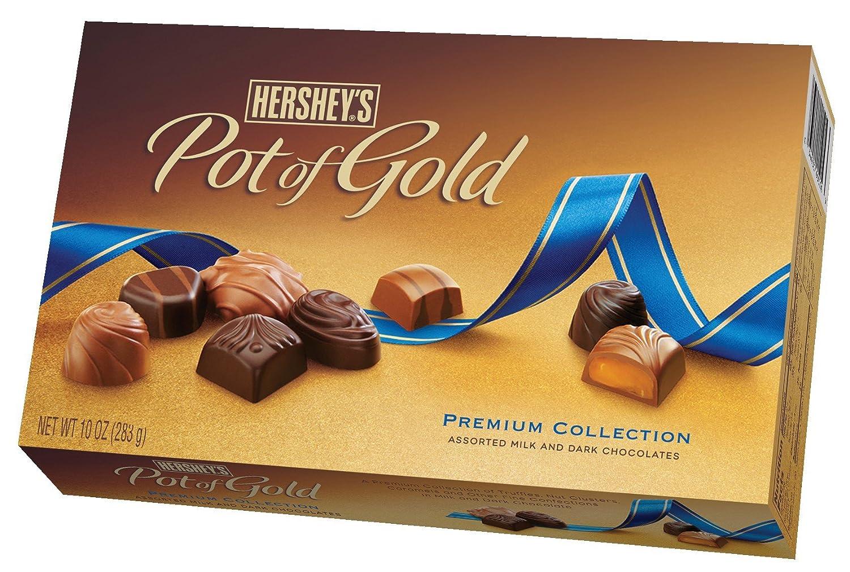 Amazon.com : Hershey's Pot of Gold Assorted Milk and Dark ...