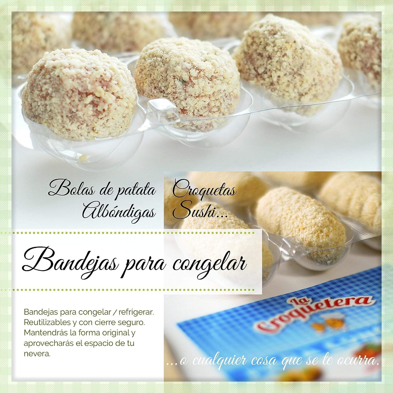 Compra Molde Congelar Croquetas Bl/20 Global Bosq 10 Ud en Amazon.es