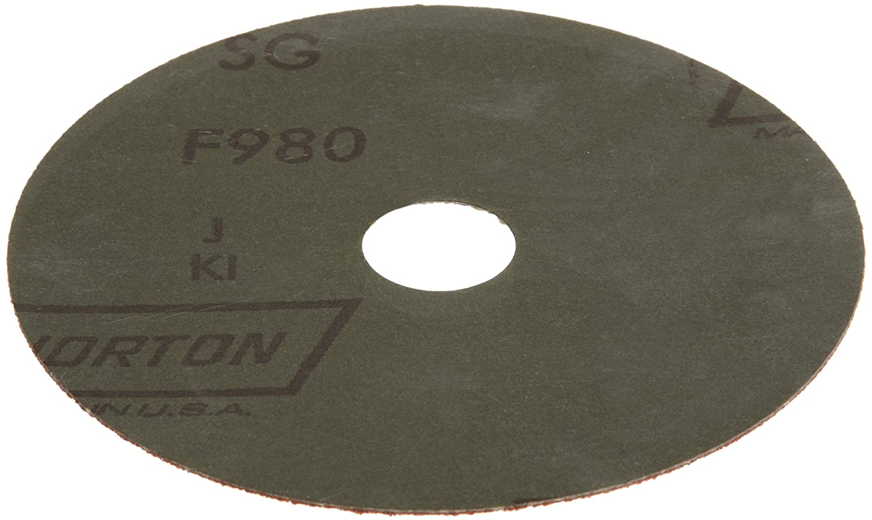 Norton SG Blaze F980 Abrasive Disc Grit 50 Box of 25 7//8 Arbor 4-1//2 Diameter St Ceramic Aluminum Oxide 4-1//2 Diameter 7//8 Arbor Gobain Abrasives 69957398002 Fiber Backing