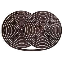 Yardsky 10 MeterZelfklevende Borstel Strip Afdichtingstape Schuimstrip Weerband voor Ramen Deuren Garderobe Rolluik…