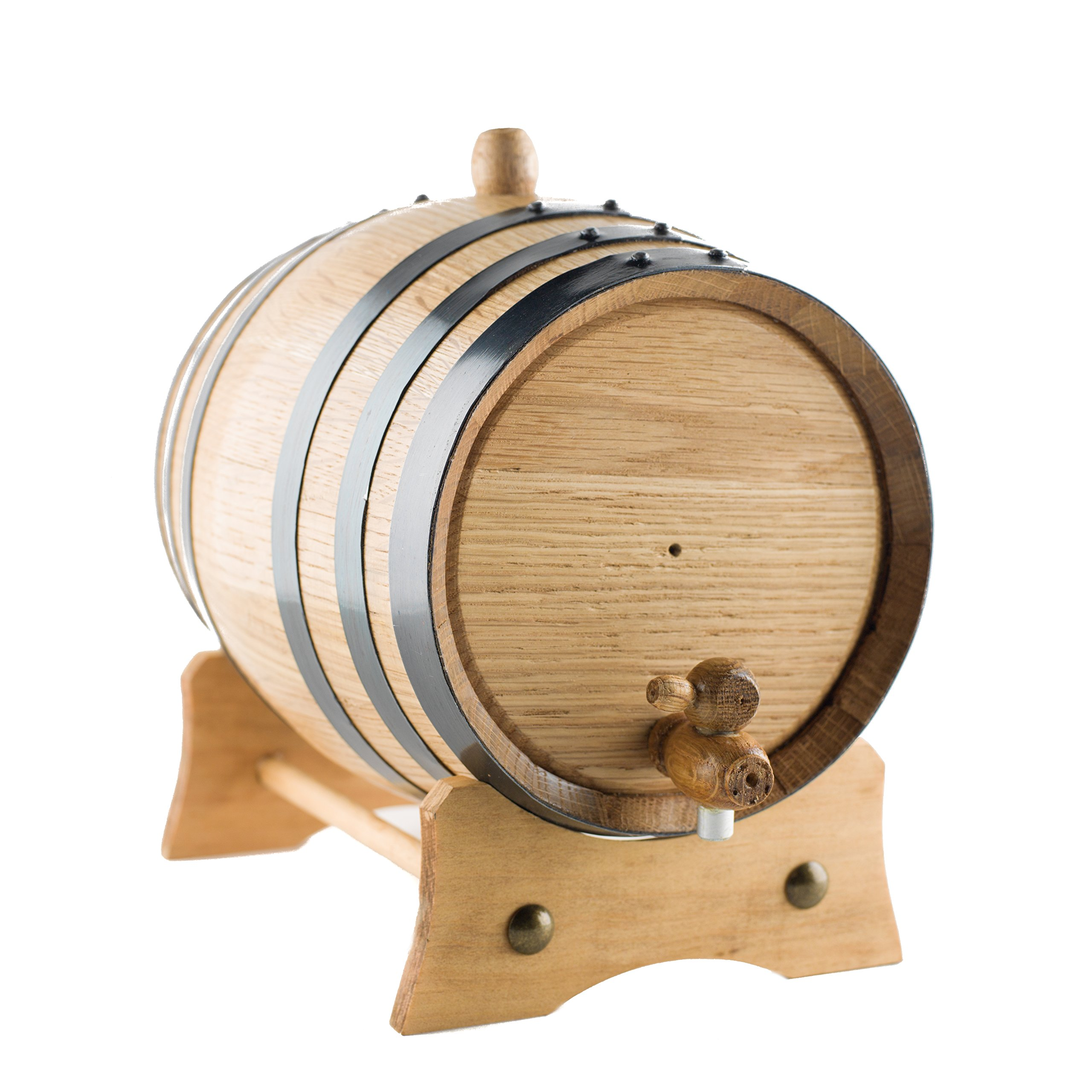 Sofia's Findings 3-Liter American Oak Aging Barrel | Age Your own Tequila, Whiskey, Rum, Bourbon, Wine - 3 Liter or .8 Gallons