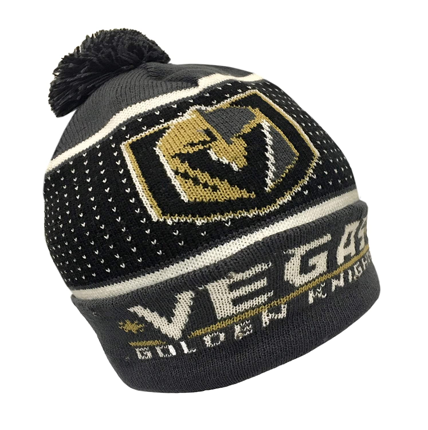 brand new 1989e 4ade2 Amazon.com   Forever Collectibles NHL Boston Bruins Big Logo Knit Light Up  Beanie Hat   Sports   Outdoors