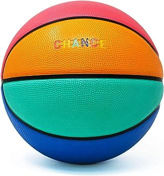 Amazon.com: Chance - Balón de baloncesto de goma para ...