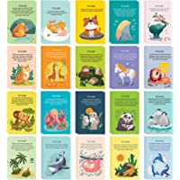 40 Animal Fun Fact Postcards - Bulk Thinking of You Postcard Pack for Kids, Students, Friends, Teacher, and More - Say…