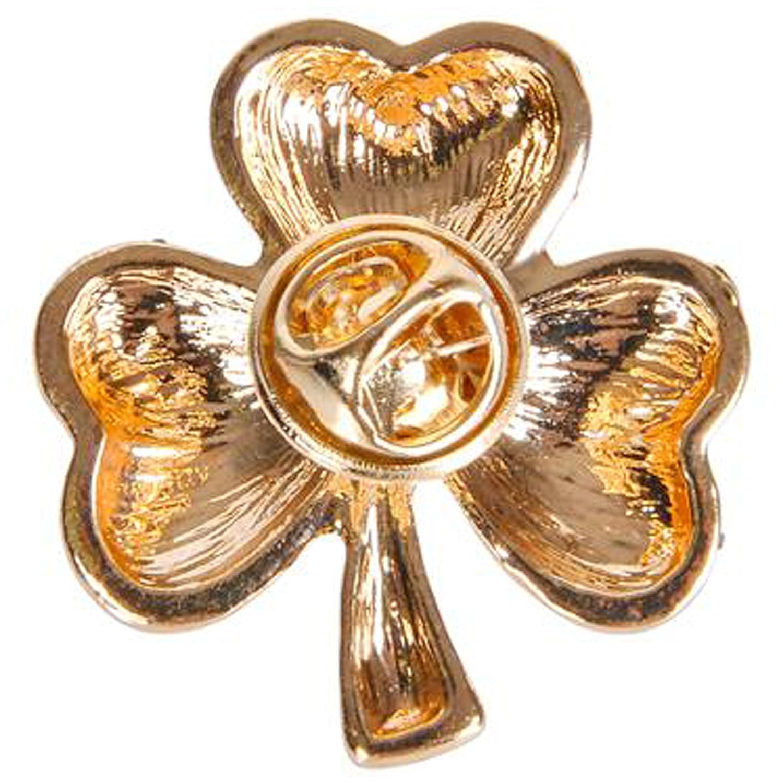 Irish Saint Patricks Day 1 Glitter Shamrock Pins Party Supplies 12 per order Rhode Island Novelty