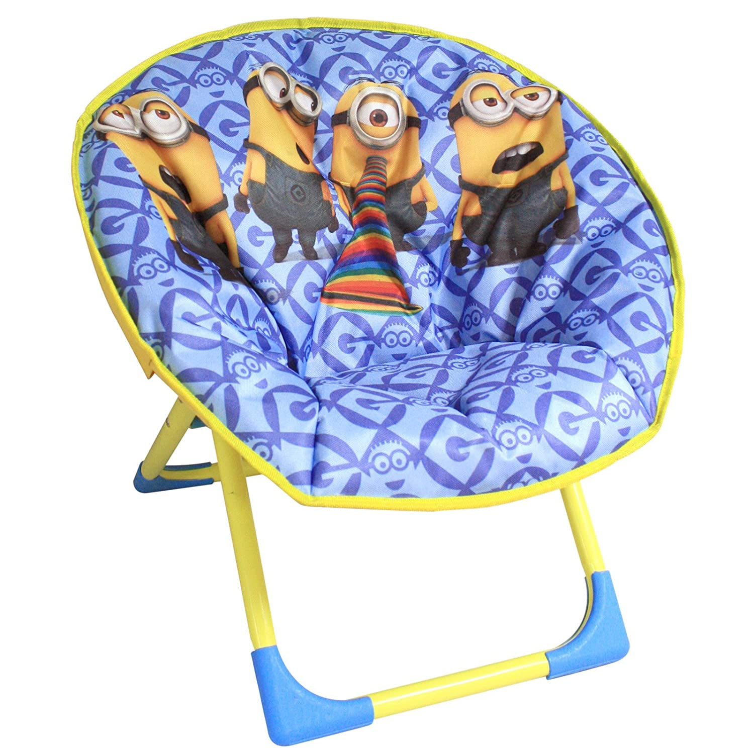 Childs ficial Despicable Me Minions New Kids Cushioned Folding