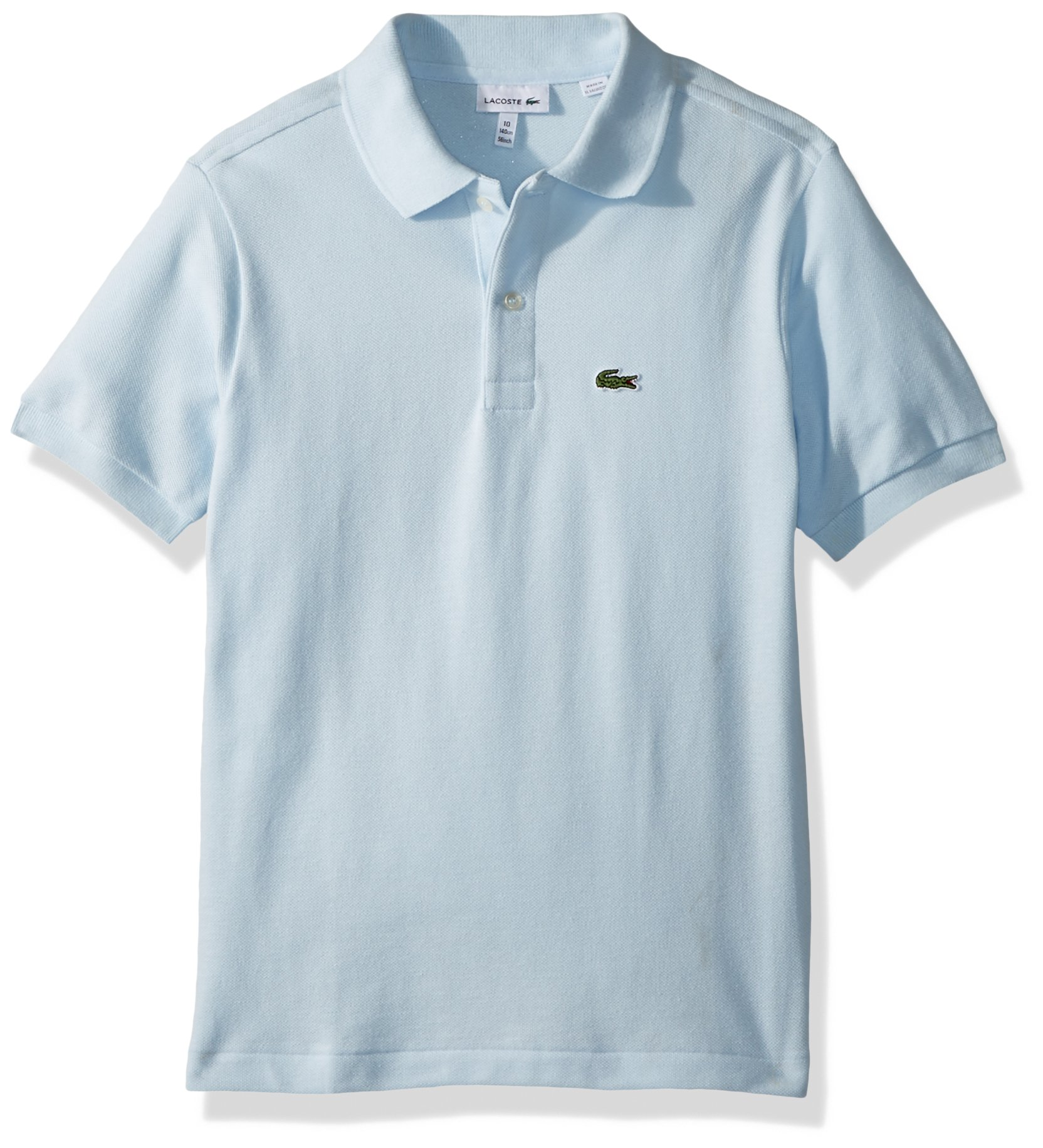 Lacoste Big Boys' Short Sleeve Classic Pique Polo, Rill, 8