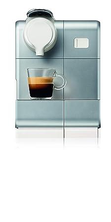 Nespresso DeLonghi Lattisima Touch Animation EN560.S - Cafetera monodosis de cápsulas Nespresso con depósito de leche, 6 recetas seleccionables, 19 ...