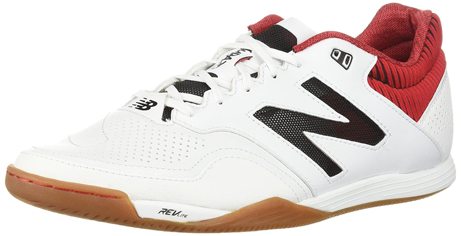 New Balance Men's Audazo 2.0 Pro in Soccer Shoe B06XWV5C9H 11 2E US|White/Red