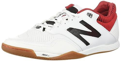 New Balance Audazo 2.0 Pro Futsal, Zapatilla de fútbol Sala, White-Red: Amazon.es: Zapatos y complementos