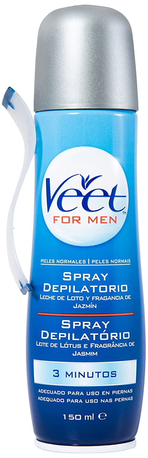 Veet for Men Spray depilatorio - Piel normal, 150ml: Amazon.es: Amazon Pantry