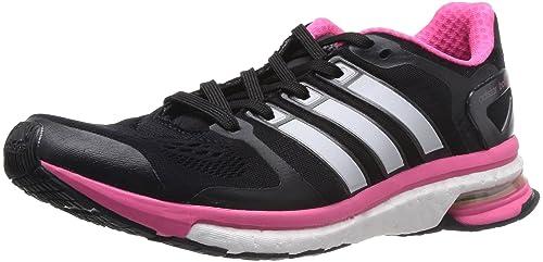 online retailer c24a3 2aa5e Adidas Adistar Boost ESM Womens Running Shoes, Black, ...