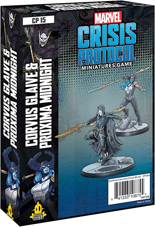 Amazon.com: Atomic Mass Games Marvel Crisis Protocol: Corvus Glaive and  Proxima Mid (CP15): Toys & Games