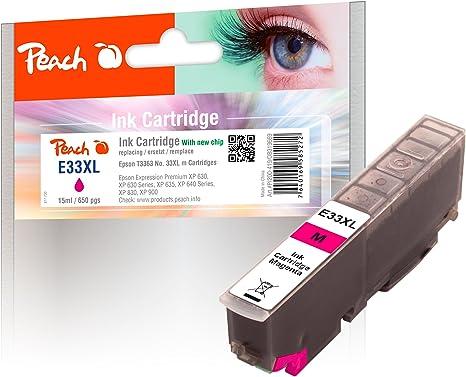 Peach 319669 15ml 650páginas Magenta cartucho de tinta - Cartucho ...
