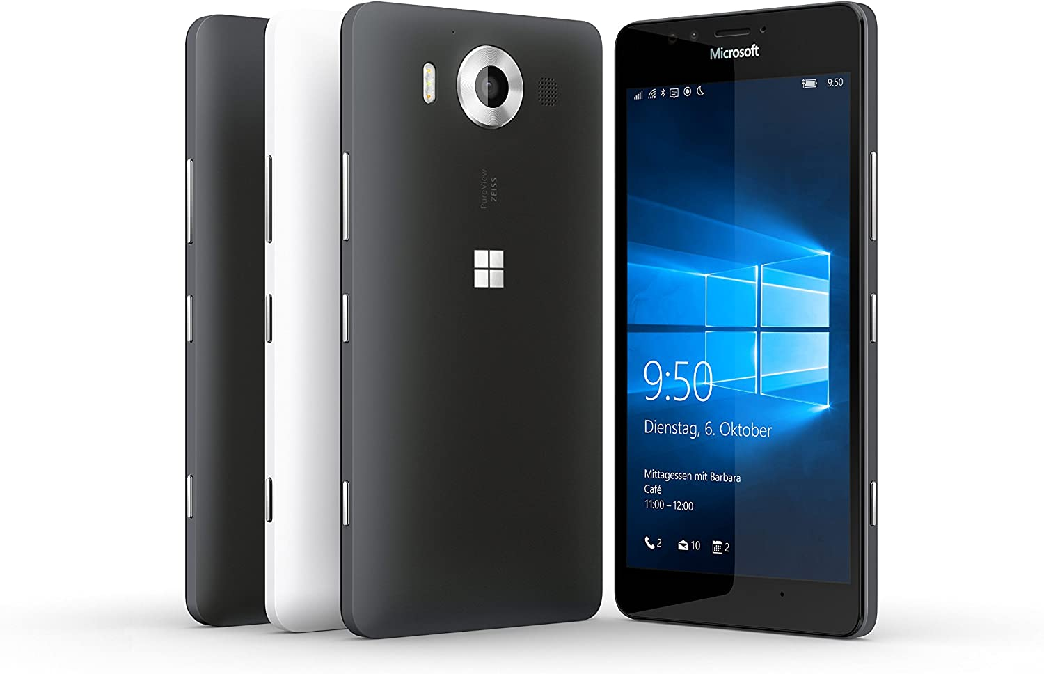 Microsoft Lumia 950 Dual SIM 32GB 4G Color Blanco: Amazon.es ...