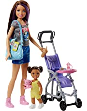 Barbie Skipper Babysitters Inc. Doll and Stroller