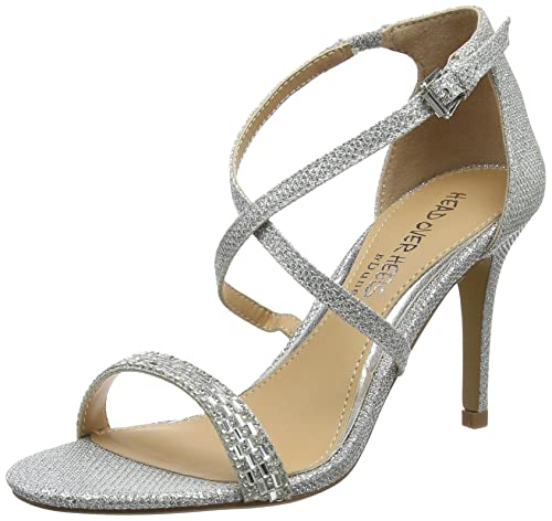 Heels Femme Over Cheville Bride Missy Head Sandales 5aYqO1