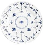 Churchill Finlandia - Vajilla de loza inglesa, tamaño 18 piezas, color blanco y azul