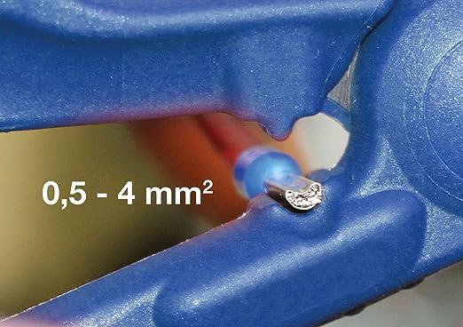 WEICON 52000035 Tijeras 35, Corte y pelado de Cables y Conductores, azul/negro, 150 mm: Amazon.es: Bricolaje y herramientas