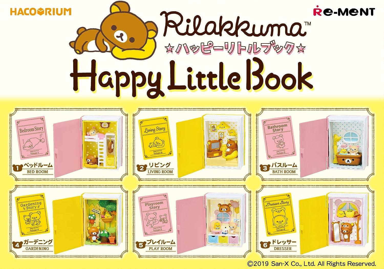 Rilakkuma Hacorium Happy Little Book Complete set of 6 pieces from JAPAN NEW
