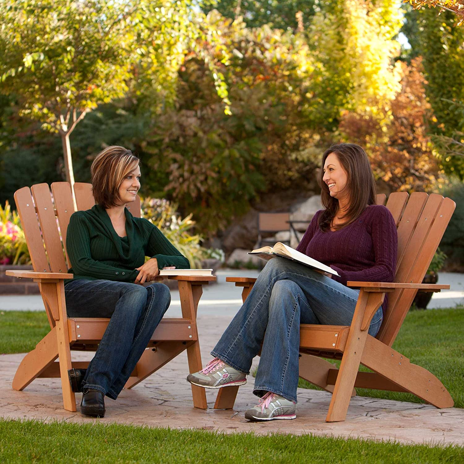 Adirondack Chair Outdoor Patio Furniture Weather Resistant