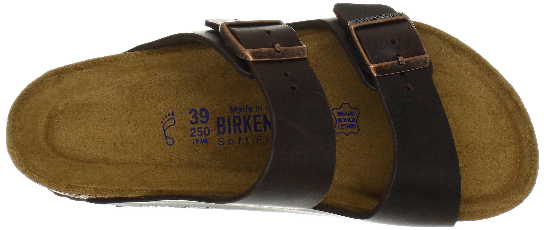 Birkenstock Unisex Arizona Brown Amalfi Leather Sandals - 39 M EU / 8-8.5 B(M) US by Birkenstock (Image #7)
