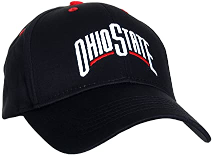 watch 11ca8 e08cc Collegiate Headwear Ohio State Buckeyes Men s MVP Ball Cap (Black)